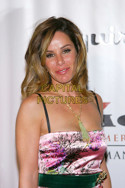 MELISSA RIVERS.Clive Davis Hosts A Celebration Of The American Music Awards held at The Esquire House. .14 November 2004.half length, pink silk satin, tassle necklace.www.capitalpictures.com.sales@capitalpictures.com.© Capital Pictures.