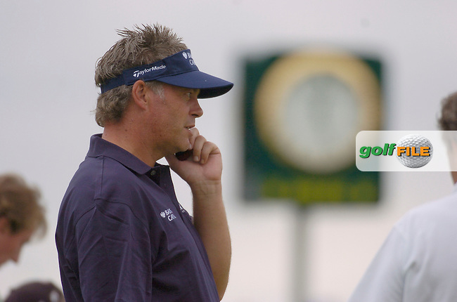 July 6th, 2006. Smurfit European Open, The K Club, Straffan, County Kildare..Ireland's Darren Clarke at the above..Photo: BARRY CRONIN/Newsfile..(Photo credit should read BARRY CRONIN/NEWSFILE).
