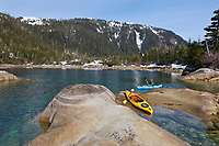 Kayakers in western Prince William Sound, southcentral, Alaska