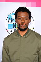 Chadwick Boseman at the 2017 American Music Awards at the Microsoft Theatre LA Live, Los Angeles, USA 19 Nov. 2017<br /> Picture: Paul Smith/Featureflash/SilverHub 0208 004 5359 sales@silverhubmedia.com