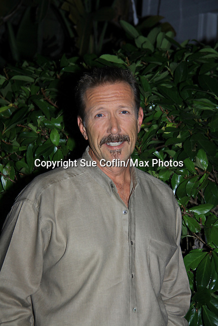 All My Children Walt Willey at SoapFest's Celebrity Weekend -  A Night of Stars - a VIP event with dinner, autographs, photos, silent and live auction on November 10, 2012 at Bistro Soleil at Old Historic Marco Inn (Photo by Sue Coflin/Max Photos)