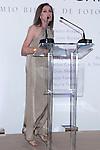 09.05.2012. Delivery of the IX Edition Photography Biennial Awards Purificacion Garcia in the Circulo de Bellas Artes in Madrid.In the picture: Ana Belen  (Alterphotos/Marta Gonzalez)