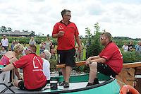 ZEILEN: GROU: Pikmar, De Tynje, Wide Ie, 30-07-2016, SKS skûtsjesilen, openingswedstrijd, Albert Jzn. Visser (Lemmer), ©foto Martin de Jong