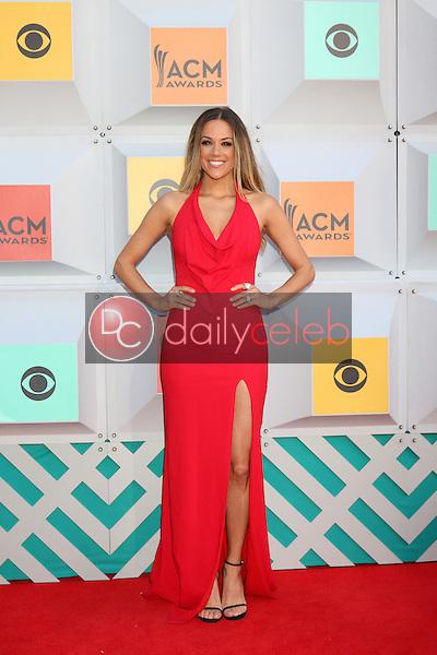 Jana Kramer<br /> at the 2016 Academy of Country Music Awards Arrivals, MGM Grand Garden Arena, Las Vegas, NV 04-03-16<br /> David Edwards/DailyCeleb.com 818-249-4998