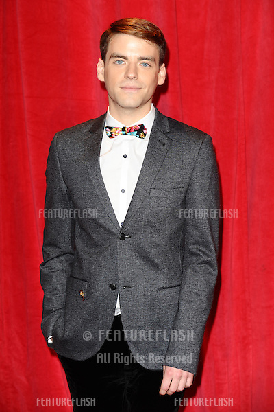 PJ Brennan  arriving for the 2014 British Soap Awards, at the Hackney Empire, London. 24/05/2014 Picture by: Steve Vas / Featureflash