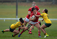 during the 2017 International Women's Rugby Series rugby match between Canada and Australia Wallaroos at Smallbone Park in Rotorua, New Zealand on Saturday, 17 June 2017. Photo: Dave Lintott / lintottphoto.co.nz