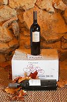 Cabernet Sauvignon Vin de Pays d'Oc 2000. Chateau Pech-Redon. La Clape. Languedoc. France. Europe. Bottle.