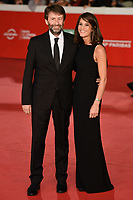 Dario Franceschini and Michela Di Biase <br /> Roma 17/10/2019 Auditorium Parco della Musica <br /> Motherless Brooklin Red Carpet <br /> Roma Cinema Fest <br /> Festa del Cinema di Roma 2019 <br /> Photo Andrea Staccioli / Insidefoto