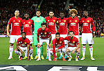 Manchester United team group during the UEFA Europa League match at Old Trafford Stadium, Manchester. Picture date: September 29th, 2016. Pic Matt McNulty/Sportimage