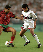 Claudio Reyna vs Portugal, 1996 .