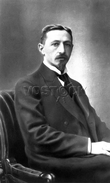Ivan Bunin (1870 - 1953) - Russian writer. / Иван Алексеевич Бунин (1870 — 1953)  - русский писатель.