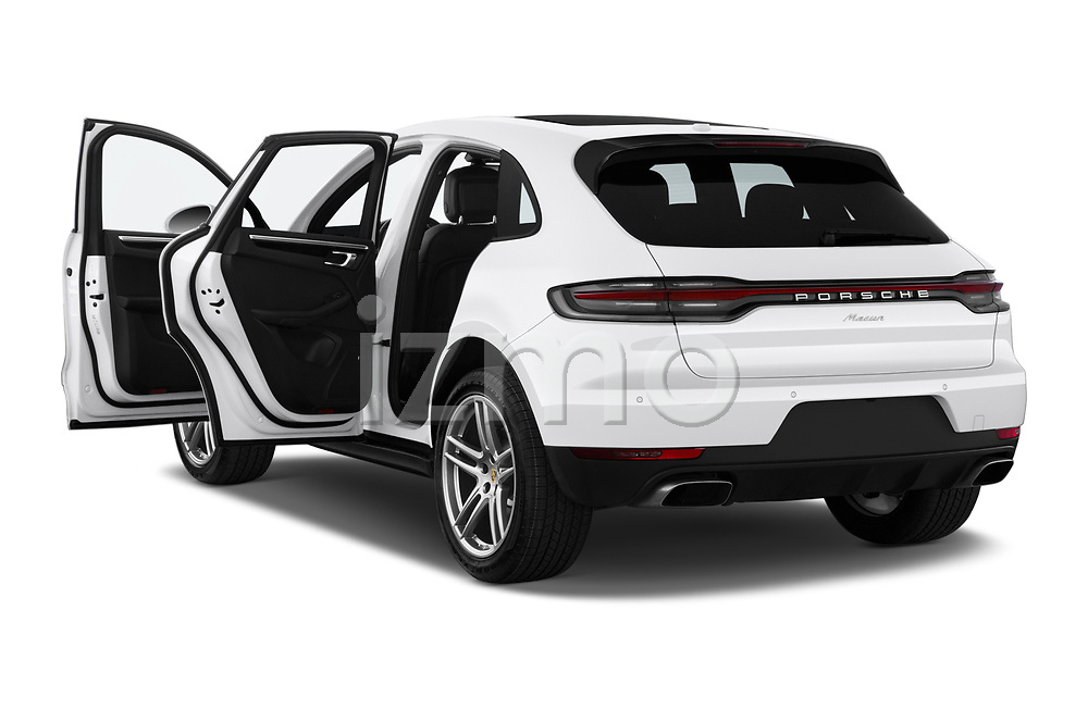 Car images close up view of a 2019 Porsche Macan Base 5 Door SUV doors