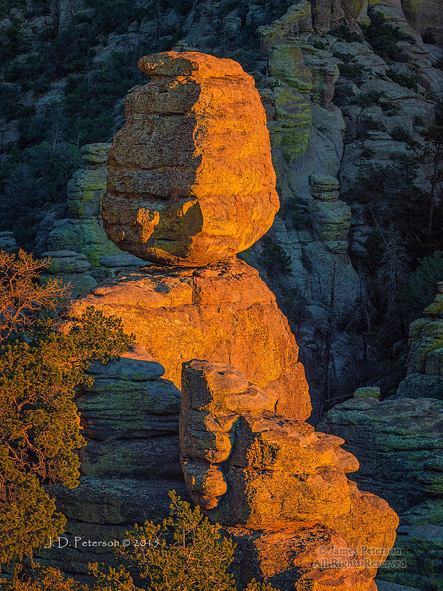 Balanced Rock, Chiricahua National Monument, Arizona