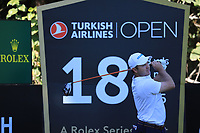 Richard Sterne (RSA) during the first round of the Turkish Airlines Open, Montgomerie Maxx Royal Golf Club, Belek, Turkey. 07/11/2019<br /> Picture: Golffile | Phil INGLIS<br /> <br /> <br /> All photo usage must carry mandatory copyright credit (© Golffile | Phil INGLIS)