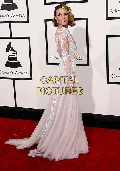 LOS ANGELES, CA - JANUARY 26 - Keltie Knight. 56th GRAMMY Awards held at the Staples Center. <br /> CAP/ADM<br /> &copy;AdMedia/Capital Pictures