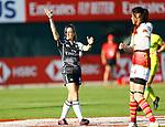 Lauren Jenner, Womens Sevens on 29 November, Dubai Sevens 2018 at The Sevens for HSBC World Rugby Sevens Series 2018, Dubai - UAE - Photos Martin Seras Lima