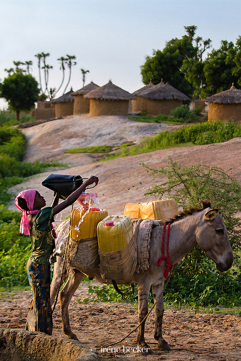 Water supplies during the rainy season. Katsina State, Nigeria.