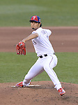 Yu Darvish (American),<br /> JULY 15, 2014 - MLB :<br /> American League All-Star Yu Darvish of the Texas Rangers pitches in the third inning during the 2014 Major League Baseball All-Star Game at Target Field in Minneapolis, Minnesota, United States. (Photo by AFLO)
