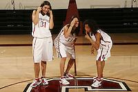 01 October 2007: (L-R): Morgan Clyburn, Jillian Harmon, and Rosalyn Gold-Onwude.