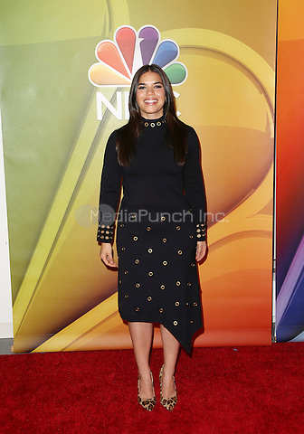 "Universal City, CA - November 18 America Ferrera Attending NBC Comedy Press Junket For ""Telenovela"" and ""Superstore"" At Universal Studios Hollywood On November 18, 2015. Photo Credit: Faye Sadou / MediaPunch"