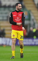 Fleetwood Town's Craig Morgan during the pre-match warm-up <br /> <br /> Photographer Kevin Barnes/CameraSport<br /> <br /> The EFL Sky Bet League One - Plymouth Argyle v Fleetwood Town - Saturday 24th November 2018 - Home Park - Plymouth<br /> <br /> World Copyright © 2018 CameraSport. All rights reserved. 43 Linden Ave. Countesthorpe. Leicester. England. LE8 5PG - Tel: +44 (0) 116 277 4147 - admin@camerasport.com - www.camerasport.com