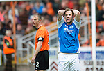 Dundee United v St Johnstone.....04.05.13      SPL.Rowan Vine reacts as his shots is deflected wide of goal.Picture by Graeme Hart..Copyright Perthshire Picture Agency.Tel: 01738 623350  Mobile: 07990 594431