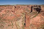 Spider Rock, Canyon de Chelly in North East Arizona