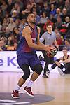 League ACB-ENDESA 2017/2018 - Game: 20.<br /> FC Barcelona Lassa vs Retabet Bilbao Basket: 90-58.<br /> Adam Hanga.