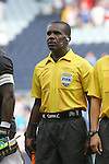 13 July 2015: Assistant Referee Garnet Page (JAM). The Haiti Men's National Team played the Honduras Men's National Team at Sporting Park in Kansas City, Kansas in a 2015 CONCACAF Gold Cup Group A match. Haiti won the game 1-0.