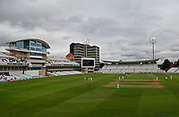 General view of play with the lights on during Nottinghamshire CCC vs Essex CCC, Specsavers County Championship Division 1 Cricket at Trent Bridge on 11th September 2018