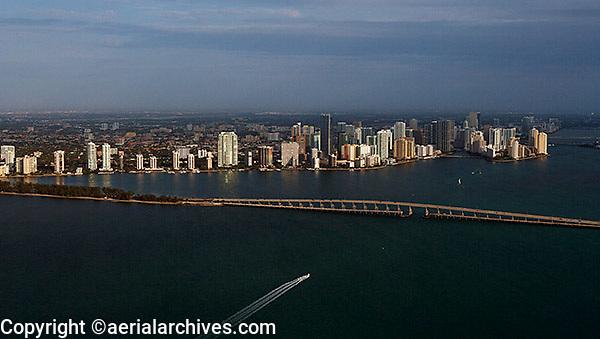 aerial photograph Miami, Florida