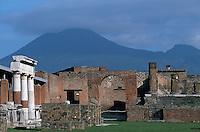 Italy ,Campania ,Pompei,? Forum,Jupiter Temple