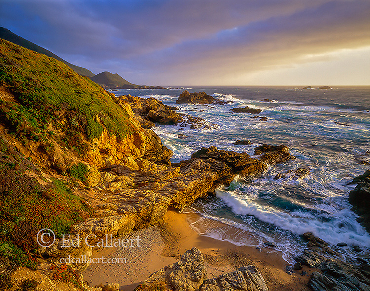 Surf, Garrapata State Park, Big Sur, Monterey County, California