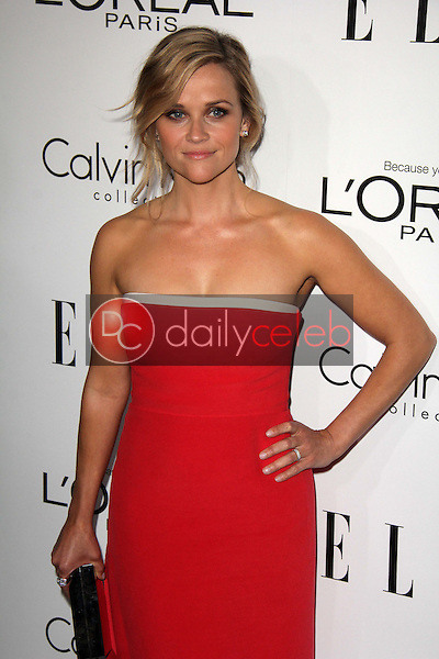 """Reese Witherspoon<br /> at the Elle 20th Annual """"Women In Hollywood"""" Event, Four Seasons Hotel, beverly Hills, CA 10-21-13<br /> David Edwards/Dailyceleb.com 818-249-4998"""