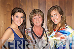 CATWALK QUEENS: Aoife O'Carroll (Kilcummin), Marie McGillicuddy (Killorglin) and Liannah Sheehy (Killorglin) modelling at the Muckross Rowing club fashion show in Hotel Europe, Killarney on Wednesday evening.