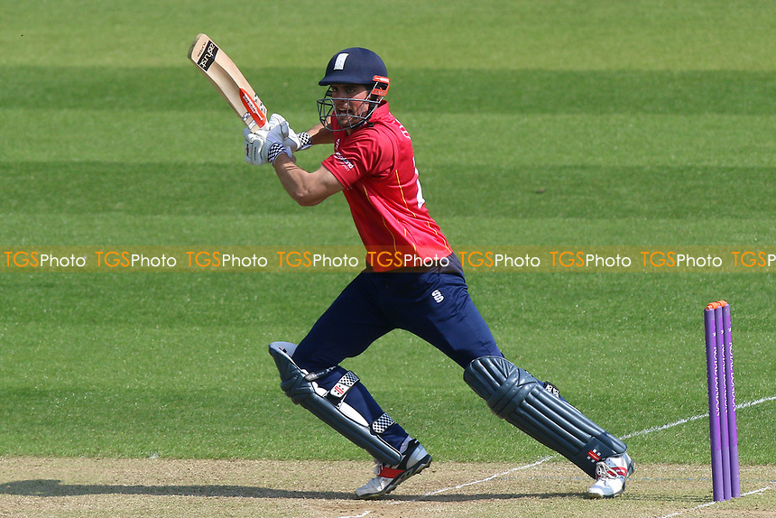 Alastair Cook of Essex in batting action during Glamorgan vs Essex Eagles, Royal London One-Day Cup Cricket at the SSE SWALEC Stadium on 7th May 2017