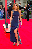 Ferne McCann arriving for the World Premiere of 'The Amazing Spider-Man 2' at Odeon Leicester Square, London. 10/04/2014 Picture by: Dave Norton / Featureflash