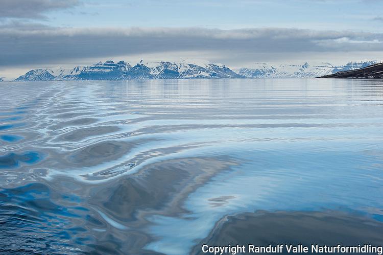 Isfjorden, Svalbard.