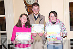 POSTER: Mary and Denis Aherne with Sarah Browne, Listowel who took part in the Listowel Credit Union Poster competition in the Listowel Arms Hotel on Friday night.   Copyright Kerry's Eye 2008