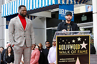 LOS ANGELES - JAN 30:  Curtis Jackson, 50 Cent, Eminem, Marshall Bruce Mathers III at the 50 Cent Star Ceremony on the Hollywood Walk of Fame on January 30, 2019 in Los Angeles, CA