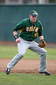 February 21, 2010:  First Baseman Kevin Quaranto (47) of the Siena Saints during a game at Melching Field at Conrad Park in DeLand, FL.  Siena lost to Stetson by the score of 8-7.  Photo By Mike Janes/Four Seam Images