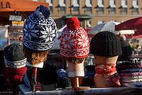 Marktplatz in Helsinki, Finnland
