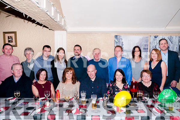 30th Birthday : Marian Costello, Kilflynn, third from left front, celebrating her 30th birthday with family & friends at Eabha Joan's Restaurant, Listowel on Saturday night last.