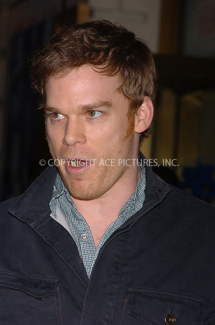 """WWW.ACEPIXS.COM . . . . . ....April 19 2006, New York City....MICHAEL C HALL....Arrivals at the opening night of """"Three Days of Rain"""" staring Julia Roberts at the Bernard B Jacobs Theatre in midtown Manhattan....Please byline: AJ SOKALNER - ACEPIXS.COM..... . . . . ..Ace Pictures, Inc:  ..(212) 243-8787 or (646) 679 0430..e-mail: picturedesk@acepixs.com..web: http://www.acepixs.com"""