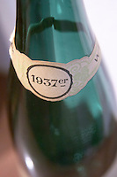 1937 neck label in german f e trimbach ribeauville alsace france