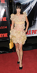Bai Ling arriving at the premiere for Max Payne, held at Mann's  Grauman Chinese Hollywood, Ca. October 13, 2008