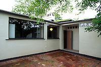 Deutschland, Sachsen-Anhalt, Bauhaus in Dessau, Unesco-Weltkulturerbe, Törten-Siedlung von Walter Gropius 1926/1928, Moses Mendelssohn-Stiftung