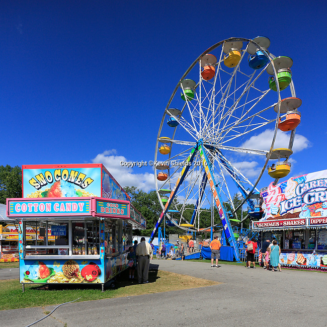 The Union Fair, Union, Knox County, Maine, USA