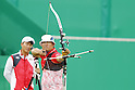 Takaharu Furukawa (JPN), <br /> AUGUST 12, 2016 - Archery : <br /> Men's Individual Round of 16 <br /> at Sambodromo <br /> during the Rio 2016 Olympic Games in Rio de Janeiro, Brazil. <br /> (Photo by Yusuke Nakanishi/AFLO SPORT)