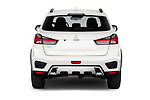 Straight rear view of a 2020 Mitsubishi ASX Diamond Edition 5 Door SUV stock images